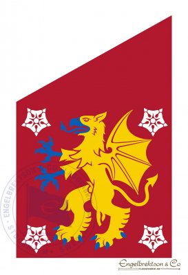 Ostergotland Landskap Regionsflaggor Flaggor Flaggbutik Nu